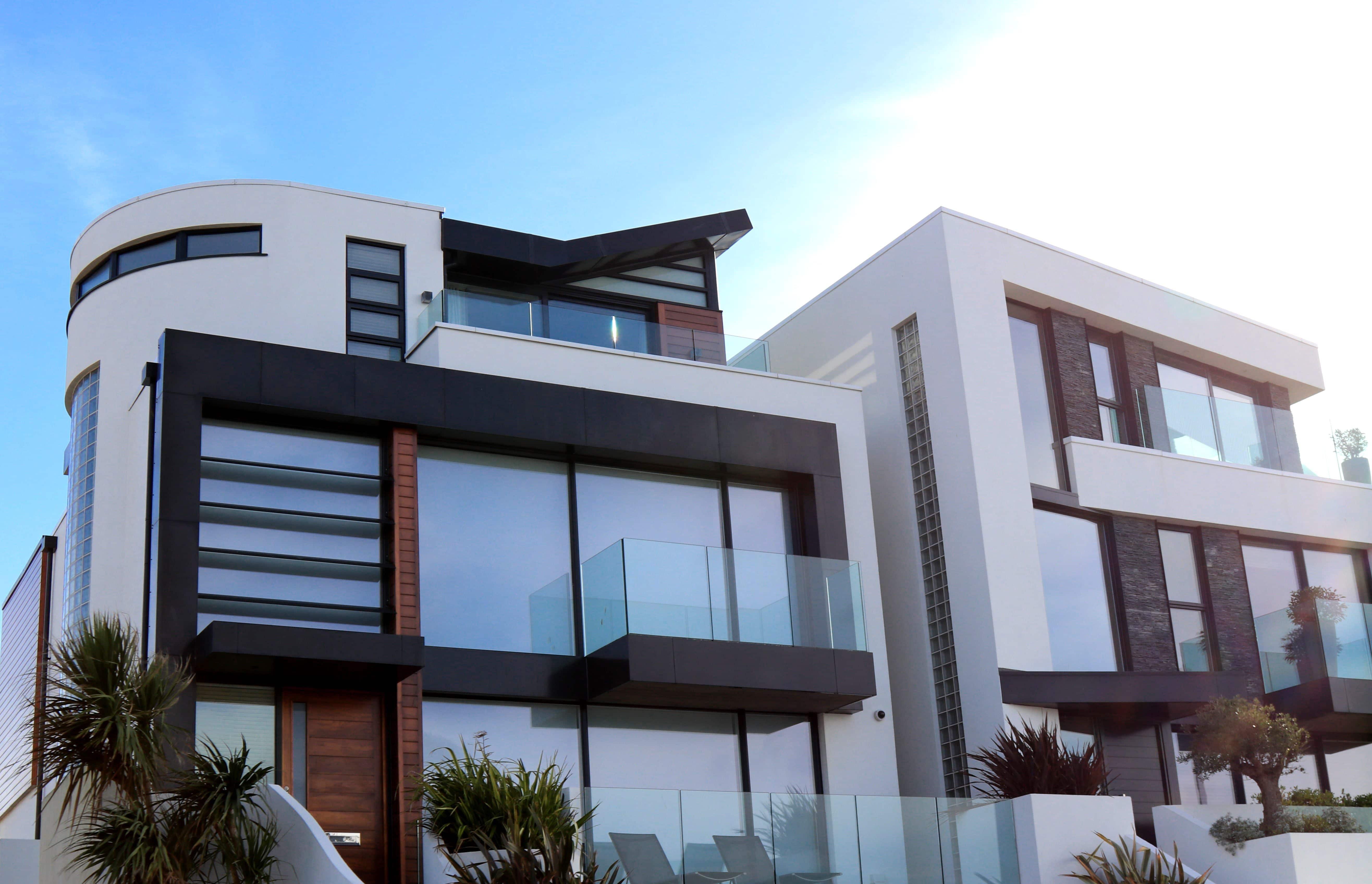 façade d'appartements de luxe